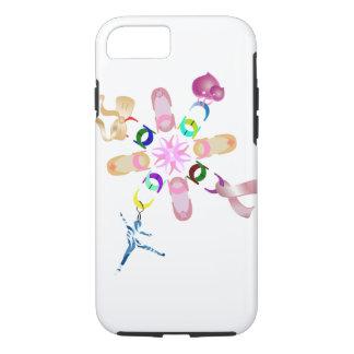 Capa iPhone 8/ 7 Corrente afortunada floral Assorted balé