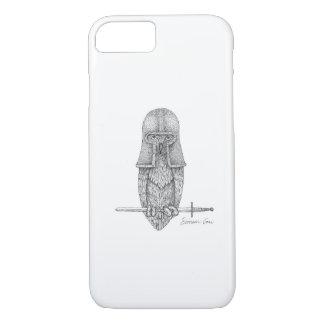 Capa iPhone 8/ 7 Coruja do cavaleiro