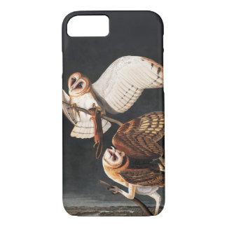 Capa iPhone 8/ 7 Corujas de celeiro pelo iphone de Audubon 8/7 de