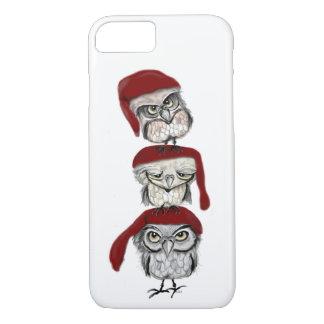 Capa iPhone 8/ 7 Corujas do Natal