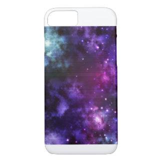 Capa iPhone 8/ 7 Cosmos roxo - Iphone 8/7 de caso