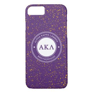 Capa iPhone 8/ 7 Crachá alfa do Lambda | do Kappa