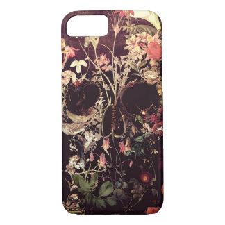 Capa iPhone 8/ 7 Crânio da flor