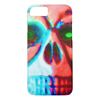 Capa iPhone 8/ 7 crânio do Dia das Bruxas