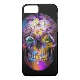 Capa iPhone 8/ 7 Crânio floral surpreendente A