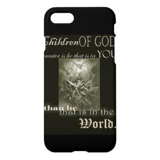 Capa iPhone 8/7 Crianças do caso do iPhone 7 do deus