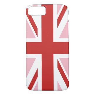Capa iPhone 8/ 7 Criar seu próprio Union Jack vermelho