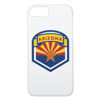 Capa iPhone 8/ 7 Crista da bandeira do estado da arizona