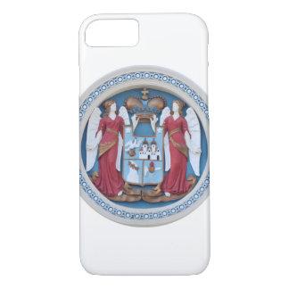 Capa iPhone 8/ 7 cristo ortodoxo do estuque do símbolo da religião
