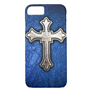 Capa iPhone 8/ 7 Cruz azul