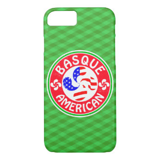 Capa iPhone 8/ 7 Cruz Basque de Euskara Lauburu do americano