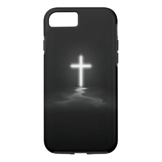 Capa iPhone 8/ 7 cruz do cristão do caso do iPhone 7