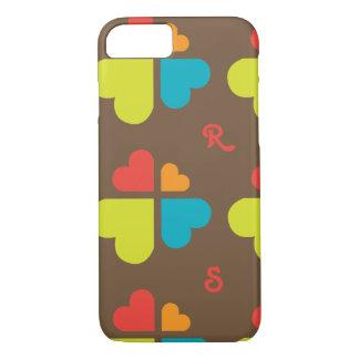 Capa iPhone 8/ 7 Cruz dos corações