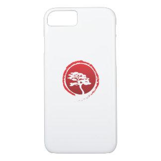 Capa iPhone 8/ 7 Cultura japonesa da tradição de Japão da árvore