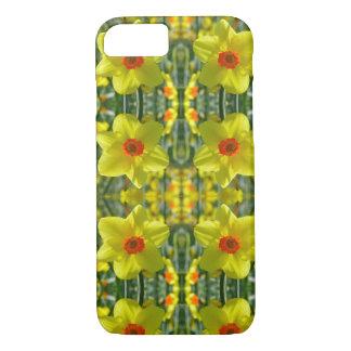 Capa iPhone 8/ 7 Daffodils amarelos alaranjado 01.0.2.p