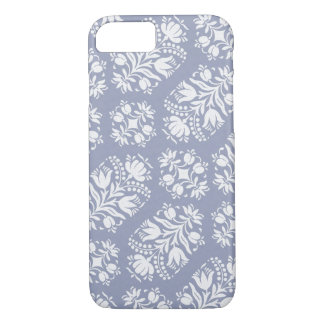 Capa iPhone 8/ 7 Damasco floral da arte popular
