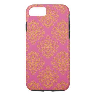 Capa iPhone 8/ 7 Damasco floral dourado