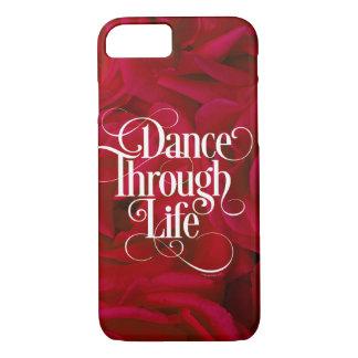 Capa iPhone 8/ 7 Dança com a vida