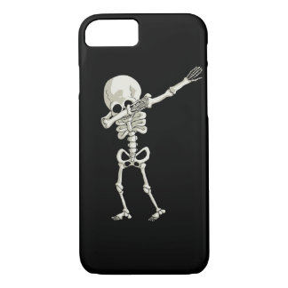 Capa iPhone 8/ 7 dança de toque ligeiro de esqueleto da solha do