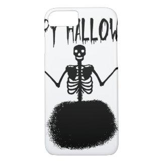 Capa iPhone 8/ 7 Dançarino de balé de esqueleto feliz do Dia das