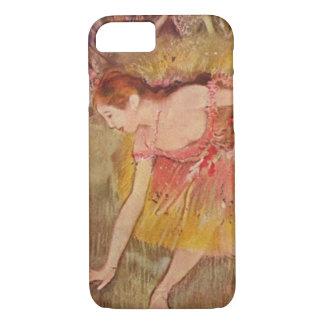 Capa iPhone 8/ 7 Dançarinos de Edgar Degas que dobram-se abaixo das