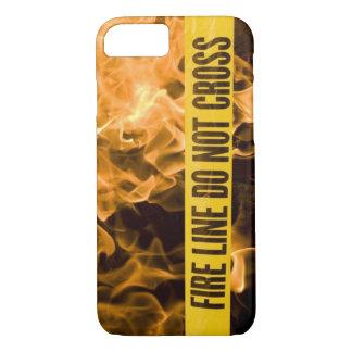 """Capa iPhone 8/ 7 De """"A linha fogo não cruza"""" o caso de IPhone 8"""