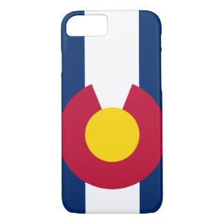 Capa iPhone 8/ 7 De Colorado da bandeira do iPhone 7 do caso caso