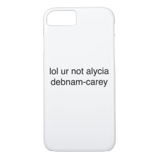 Capa iPhone 8/ 7 debnam-carey do alycia do ur do lol não