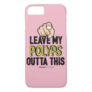 Capa iPhone 8/ 7 Deixe a meus Polyps Outta isto