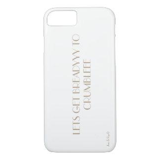 Capa iPhone 8/ 7 Deixe-nos conseguir breadyyy desintegrar-se!