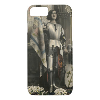 Capa iPhone 8/ 7 Descrição do vintage de Joana do arco