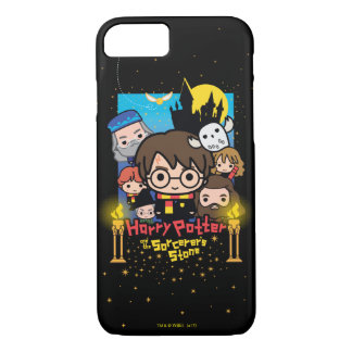 Capa iPhone 8/ 7 Desenhos animados Harry Potter e a pedra do