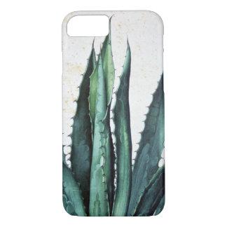 Capa iPhone 8/ 7 Deserto do cacto do aloés da agave do boho do