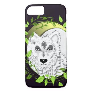 Capa iPhone 8/ 7 Design ártico do animal selvagem de lobos brancos