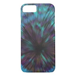 Capa iPhone 8/ 7 Design azul da arte abstracta da ilusão óptica do