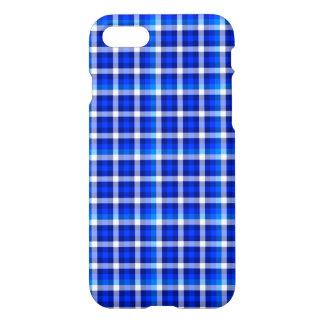 Capa iPhone 8/7 Design azul da forma do teste padrão da