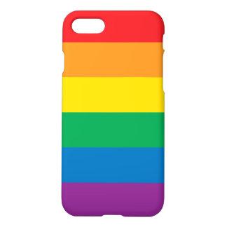 Capa iPhone 8/7 Design colorido do arco-íris do orgulho |