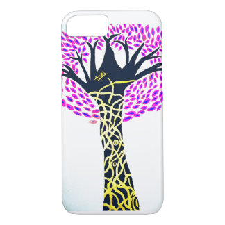 Capa iPhone 8/ 7 Design da árvore da arte cura por Ashi Sharma