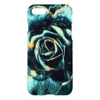 Capa iPhone 8/7 Design do rosa do azul