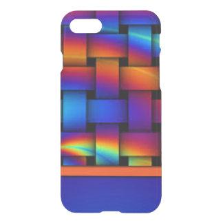 Capa iPhone 8/7 Design do teste padrão de Weave de cesta