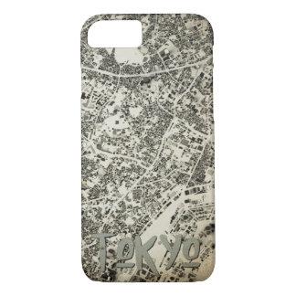 Capa iPhone 8/ 7 Design do vintage das ruas e das construções da