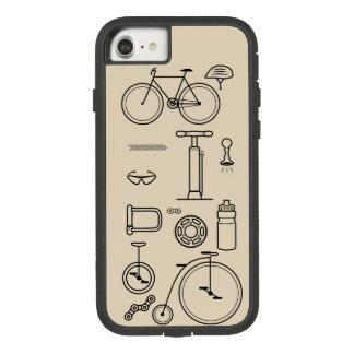 Capa iPhone 8/ 7 Design dos fundamentos do ciclismo de impressão da