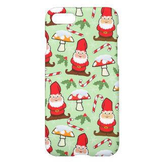 Capa iPhone 8/7 Design dos gnomos do papai noel do Natal