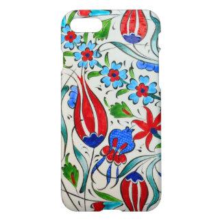 Capa iPhone 8/7 Design floral turco