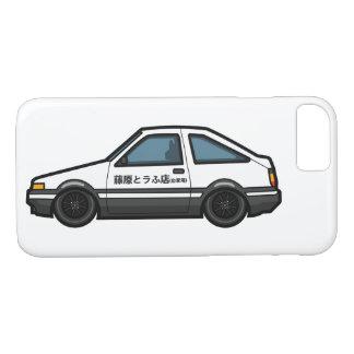 Capa iPhone 8/ 7 Design inicial da loja do Tofu de D AE 86 Trueno