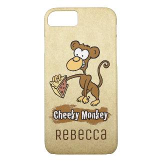 Capa iPhone 8/ 7 Design insolente do macaco do divertimento