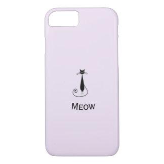 Capa iPhone 8/ 7 Design lindo do gato do Meow - simplesmente