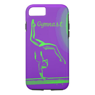 Capa iPhone 8/ 7 design resistente do Gymnast do cobrir do iphone 6