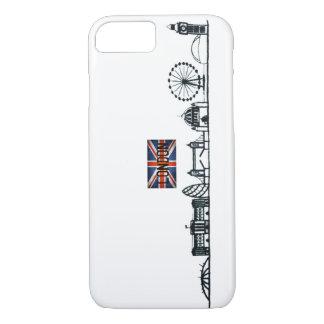 CAPA iPhone 8/ 7 DESIGN SIMPLES DA ILUSTRAÇÃO DO MARCO DE LONDRES