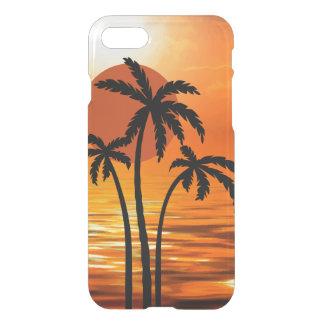 Capa iPhone 8/7 Design tropical da praia do verão